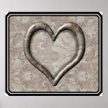 Camouflage Heart - Desert Print
