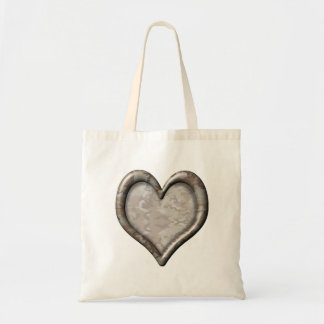 Camouflage Heart Canvas Bag