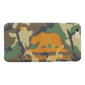 Camouflage Hunter Orange California Republic Flag iPhone 6 Plus Case