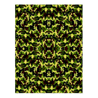 Camouflage in the Third! (jungle green) ~ Postcard