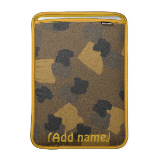 Camouflage iPad or MacAirbook Personalized Sleeve MacBook Sleeve
