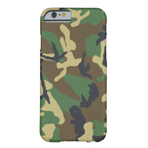 Camouflage iPhone 6 Barely There™ iPhone 6 Case