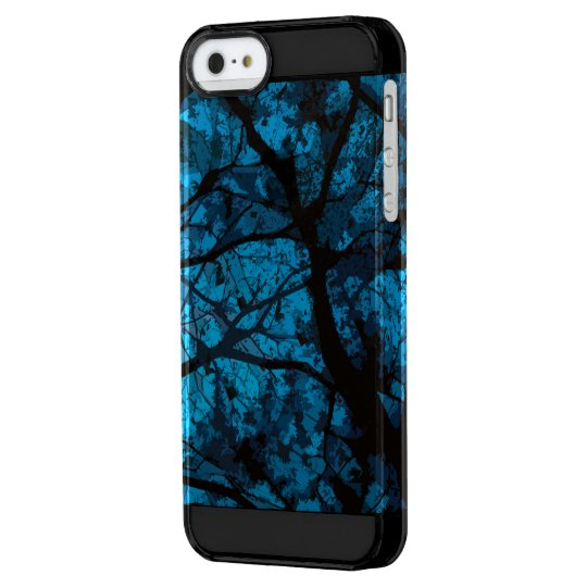 Camouflage Iphone marries (blue version) Clear iPhone SE/5/5s