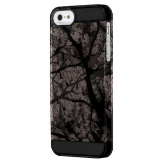 Camouflage Iphone marries (Grey version) Clear iPhone SE/5/5s Case