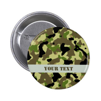 Camouflage Khaki Commando Game Badge Name Tag
