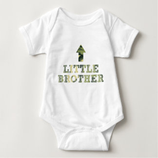 Camouflage LITTLE Brother shirt / mod camo design
