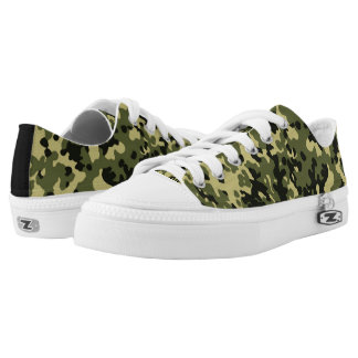 Camouflage Low Tops
