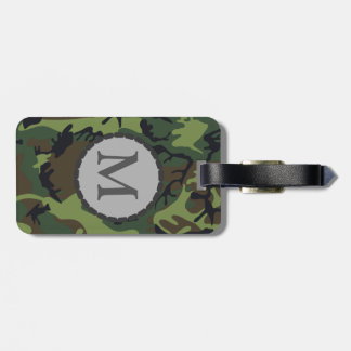 Camouflage Luggage Tag