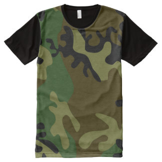 Camouflage Men T-shirt All-Over Print T-Shirt