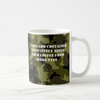 Camouflage Military Style Coffee Container Coffee Mug