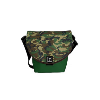 Camouflage Mini (Only Size) Messenger Bag