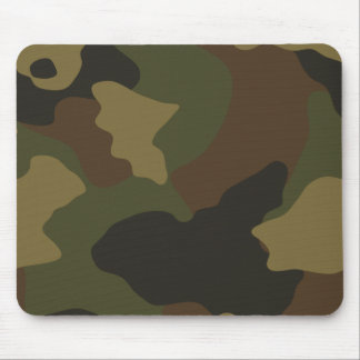 Camouflage Mouse Pad - Army Green