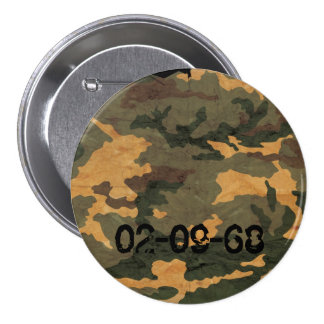 Camouflage Muster 7.5 Cm Round Badge