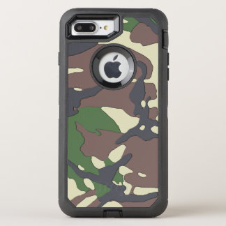 Camouflage OtterBox Defender iPhone 8 Plus/7 Plus Case