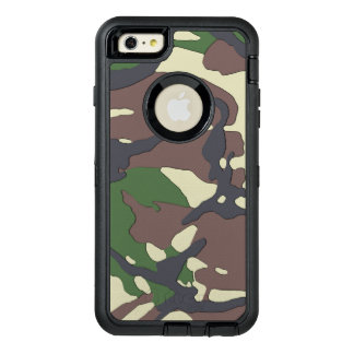 Camouflage OtterBox Defender iPhone Case