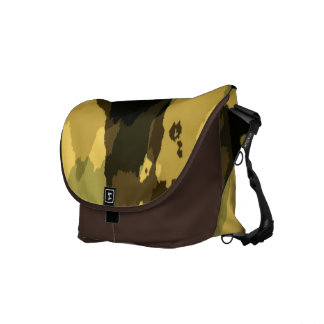 Camouflage Pattern Messenger Bags
