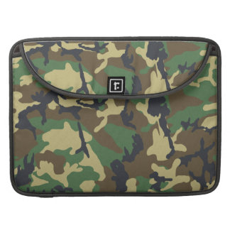 Camouflage Pattern Rickshaw Flap Sleeve Sleeves For MacBooks