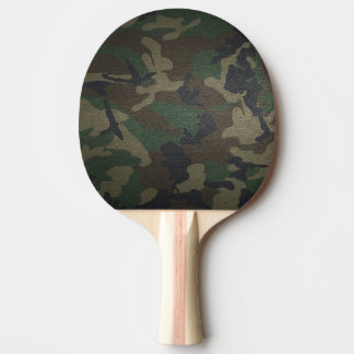 Camouflage Ping Pong Paddle
