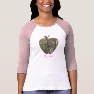 Camouflage + Pink Apple Teacher T-Shirt
