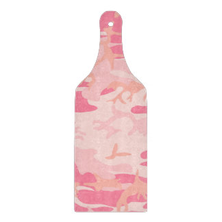 Camouflage Pink Colour Cutting Board