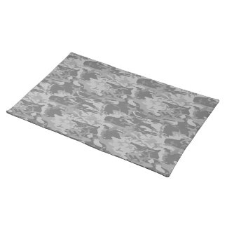 Camouflage placemat