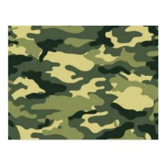 Camouflage Postcard
