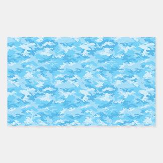 Camouflage Rectangular Sticker
