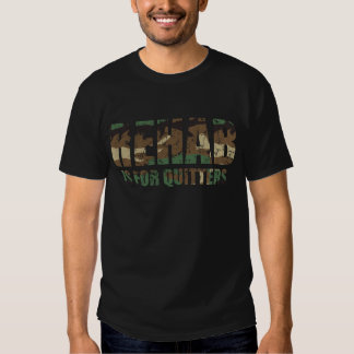 Camouflage Rehab is for Quitters Tee Shirt
