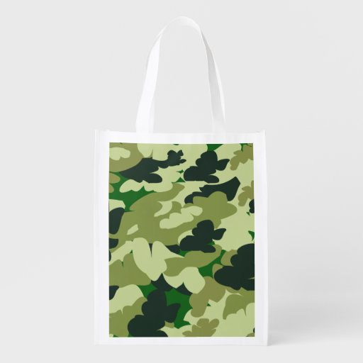 camouflage,reusable shopping bag, grocery bag
