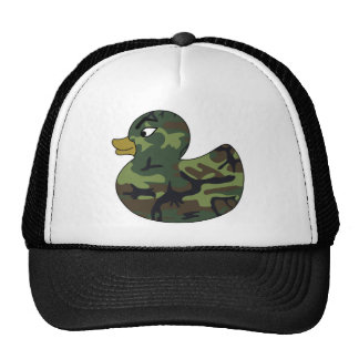 Camouflage Rubber Duck Trucker Hats