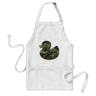 Camouflage Rubber Duck Standard Apron