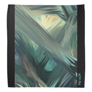 Camouflage seascape Urban Hype Du Rag Head Kerchief