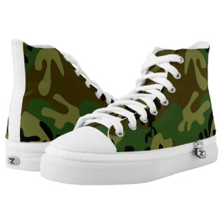 Camouflage Shoes Printed Shoes