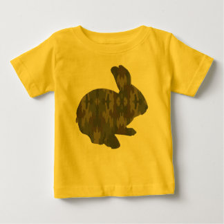 Camouflage Silhouette Easter Bunny Shirt