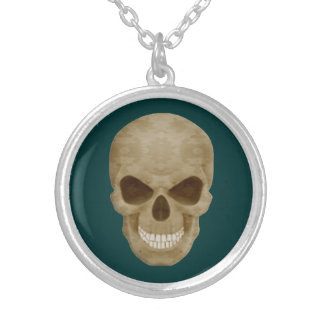 Camouflage Skull Necklace