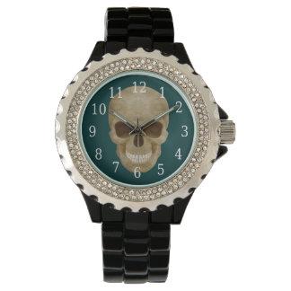 Camouflage Skull Watch