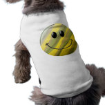 Camouflage Smiley Face Pet Tee