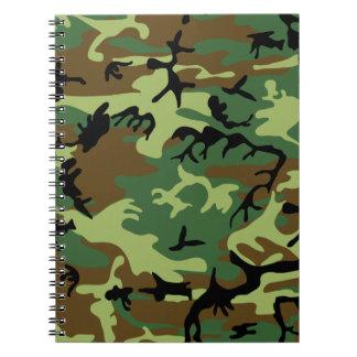 Camouflage Spiral Notebook