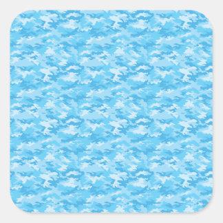 Camouflage Square Sticker