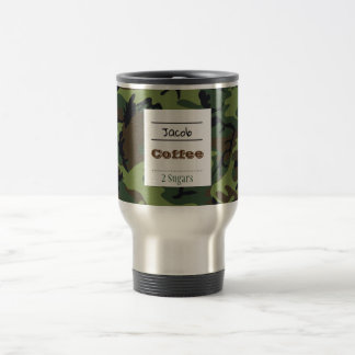 Camouflage Travel Coffee/Tea Mug