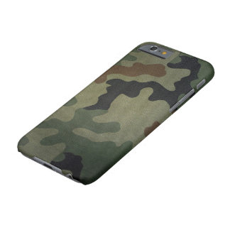 Camouflage Vintage Style Pattern Barely There iPhone 6 Case