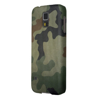 Camouflage Vintage Style Pattern Galaxy S5 Cases