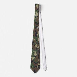 Camouflage Woodland Tie
