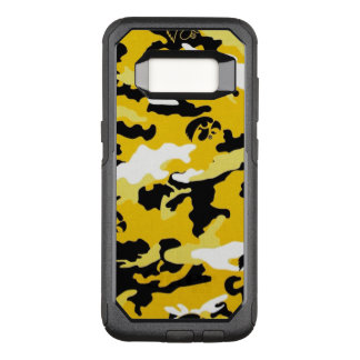 Camouflage Yellow Black Como Army Military Print OtterBox Commuter Samsung Galaxy S8 Case