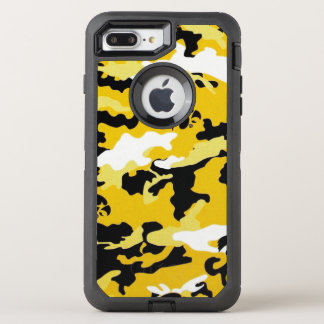 Camouflage Yellow Como Army Military Print OtterBox Defender iPhone 8 Plus/7 Plus Case