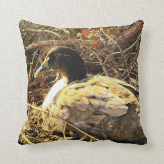 Camouflaged Duck Cushion