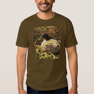 Camouflaged Duck T Shirts