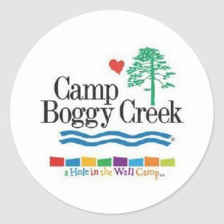 Camp Boggy Creek Classic Round Sticker