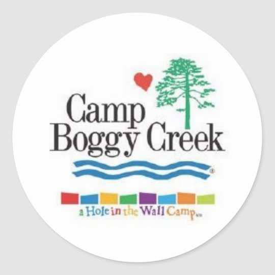 Camp Boggy Creek Classic Round Sticker
