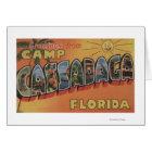 Camp Cassadaga, Florida - Large Letter Scenes Card